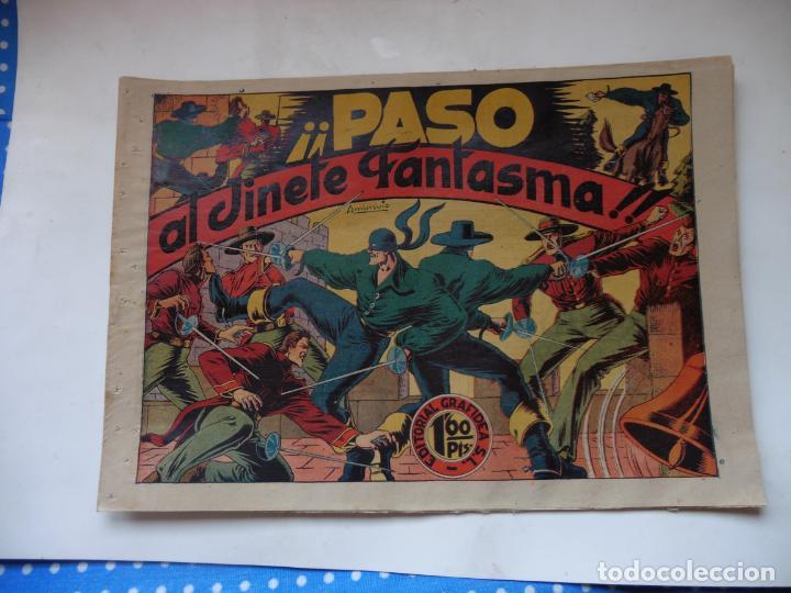 JINETE FANTASMA Nº 26 PASO DEL JINETE FANTASMA ORIGINAL (Tebeos y Comics - Grafidea - El Jinete Fantasma)