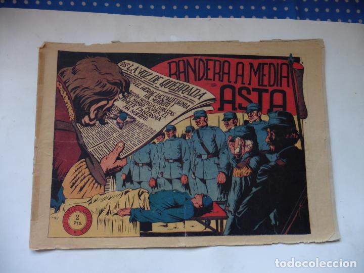 JINETE FANTASMA Nº 107 BANDERA MEDIA ASTA ORIGINAL (Tebeos y Comics - Grafidea - El Jinete Fantasma)