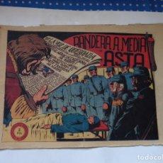 Tebeos: JINETE FANTASMA Nº 107 BANDERA MEDIA ASTA ORIGINAL. Lote 191877892