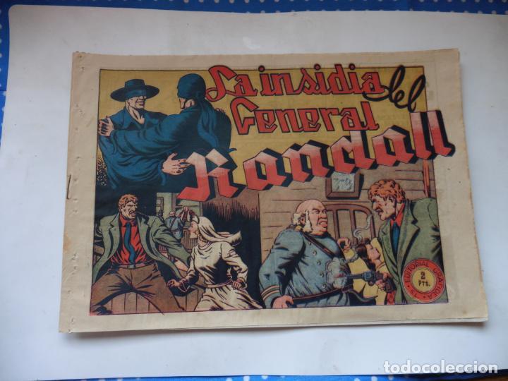 JINETE FANTASMA Nº 114 LA INSIDIA DEL GENERAL ORIGINAL (Tebeos y Comics - Grafidea - El Jinete Fantasma)