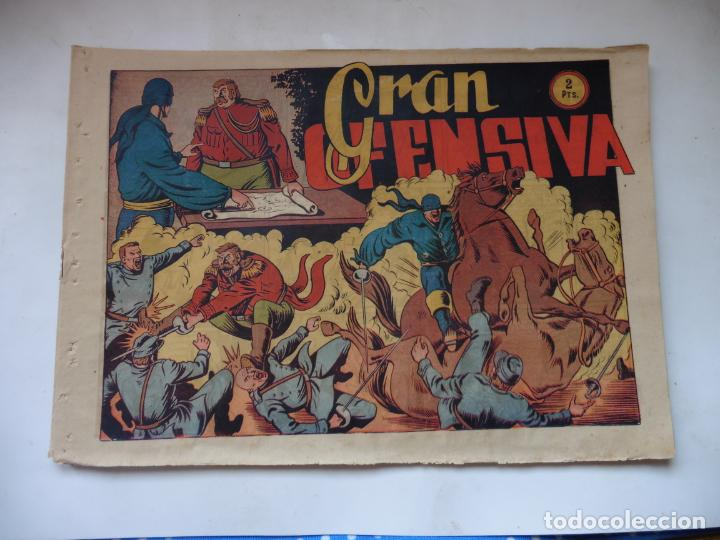 JINETE FANTASMA Nº 117 GRAN OFENSIVA ORIGINAL (Tebeos y Comics - Grafidea - El Jinete Fantasma)