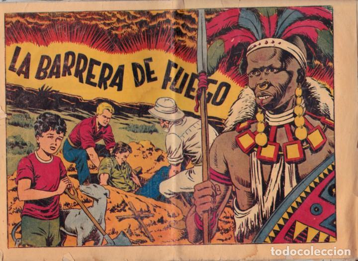 CHISPITA, CUARTA AVENTURA, NÚMERO 39: LA BARRERA DE FUEGO, 1953, GRAFIDEA (Tebeos y Comics - Grafidea - Chispita)
