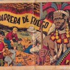 Tebeos: CHISPITA, CUARTA AVENTURA, NÚMERO 39: LA BARRERA DE FUEGO, 1953, GRAFIDEA. Lote 193781223