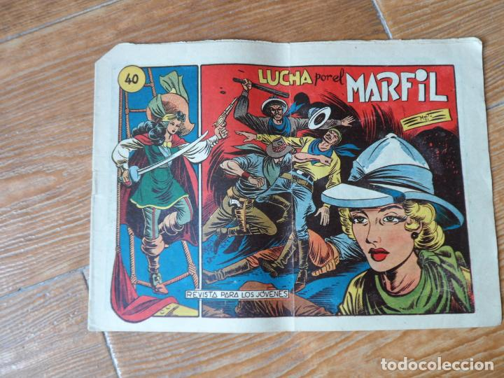 LA CAPITANA Nº 40 EDITORIAL GRAFIDEA ORIGINAL (Tebeos y Comics - Grafidea - Otros)
