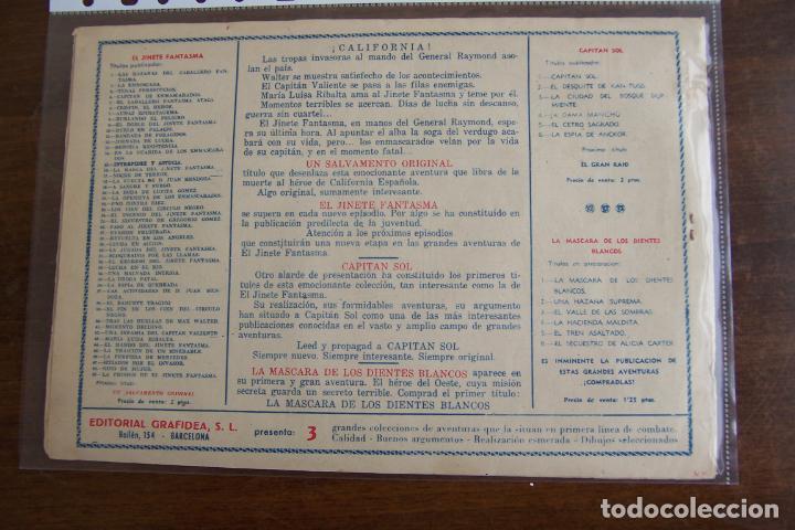 Tebeos: grafidea, el jinete fantasma nº 49 la prisión del j. f. - Foto 2 - 195003025