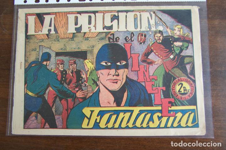 GRAFIDEA, EL JINETE FANTASMA Nº 49 LA PRISIÓN DEL J. F. (Tebeos y Comics - Grafidea - El Jinete Fantasma)