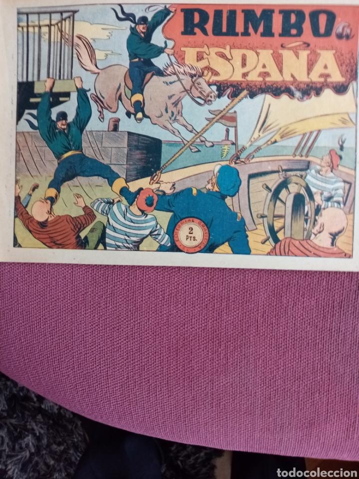 EL JINETE FANTASMA, RUMBO A ESPAÑA, ORIGINAL (Tebeos y Comics - Grafidea - El Jinete Fantasma)