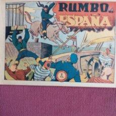 BDs: EL JINETE FANTASMA, RUMBO A ESPAÑA, ORIGINAL. Lote 196060486