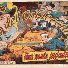 Tebeos: CUATRO CAPITANES, N. 10, UNA MALA JUGADA, EDITORIAL GRAFIDEA, 1954. Lote 201350655