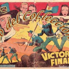 Tebeos: CUATRO CAPITANES, N. 33, VICTORIA FINAL, EDITORIAL GRAFIDEA, 1954. Lote 201351012