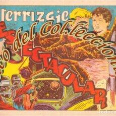 Tebeos: CHISPITA SEPTIMA 7A AVENTURA, N. 2, ATERRIZAJE ESPECTACULAR, EDITORIAL GRAFIDEA, 1955. Lote 201351895