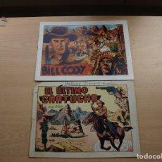 Tebeos: BILL CODY - DOS NÚMEROS - Nº 6 ORIGINAL - Nº 1 FASCIMIL - GRAFIDEA - VER FOTOS. Lote 201979850