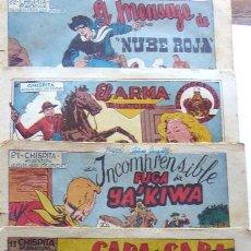 Giornalini: COM-211. CHISPITA. 8ª AVENTURA. AÑO 1951. EDITORIAL GRAFIDEA. 6 EJEMPLARES SUELTOS. ORIGINALES.. Lote 202889050