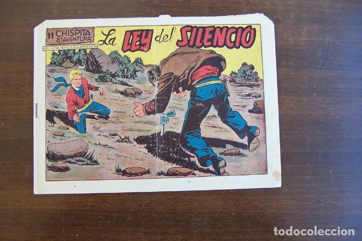GRAFIDEA,- CHISPITA 8ª AV. Nº 11 LA LEY DEL SILENCIO (Tebeos y Comics - Grafidea - Chispita)