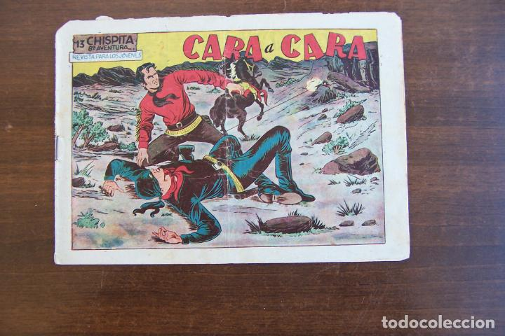 GRAFIDEA,- CHISPITA 8ª AV. Nº 13 CARA A CARA (Tebeos y Comics - Grafidea - Chispita)