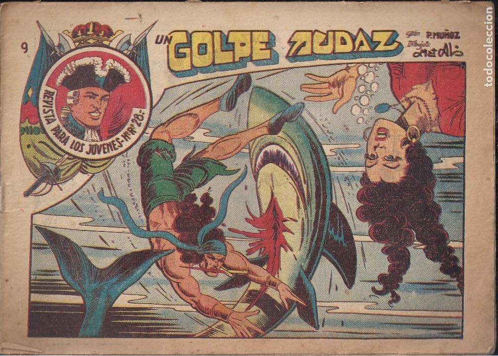 JARKO EL TEMIBLE Nº 9: UN GOLPE AUDAZ (Tebeos y Comics - Grafidea - Otros)