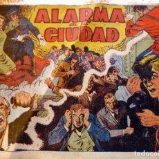 BDs: COM.243. ALARMA EN LA CIUDAD. EDIT. GRAFIDEA. CUADERNOS INFANTILES POPULARES Nº2. ORIGINAL. AÑOS 40.. Lote 212311271