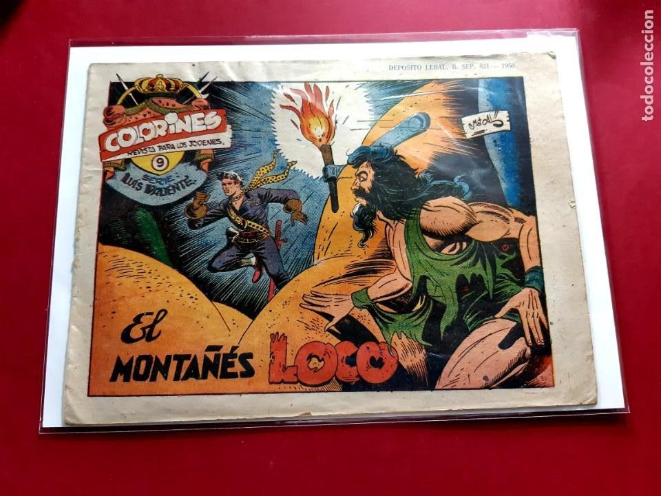 COLORINES SERIE LUIS VALIENTE Nº 14 ORIGINAL-BUEN ESTADO (Tebeos y Comics - Grafidea - Otros)