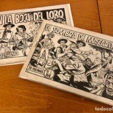 Tebeos: MASCARITA ORIGINALES, HECHOS PARA (GRAFIDEA), AÑOS 40, ESPECTACULAR. Lote 213360193
