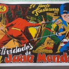 Tebeos: TEBEOS-COMICS GOYO - EL JINETE FANTASMA 37 - AMBROS - GRAFIDEA - AA98. Lote 214287336