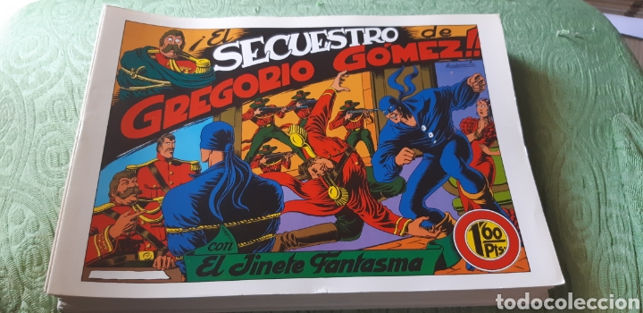 TEBEOS-COMICS GOYO - EL JINETE FANTASMA 25 - AMBROS - GRAFIDEA - AA98 (Tebeos y Comics - Grafidea - El Jinete Fantasma)