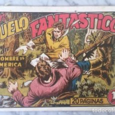Tebeos: EL HOMBRE DE AMERICA Nº 15 - UN DUELO FANTASTICO - ORIGINAL - ED. GRAFIDEA. Lote 215929463
