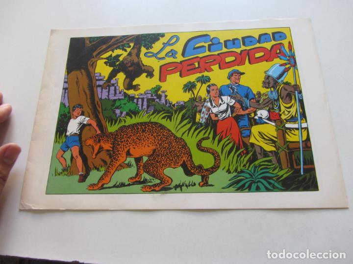 LA CIUDAD PERDIDA CHISPITA CUARTA AVENTURA Nº 6 AMBROS GRAFIDEA REEDICIÓN CX71 HJJ (Tebeos y Comics - Grafidea - Chispita)