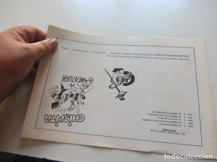 Tebeos: CHISPITA 4ª AVENTURA. Nº 4. LA SENDA DEL MARFIL AMBROS GRAFIDEA REEDICIÓN CX71 hjj - Foto 2 - 217458477
