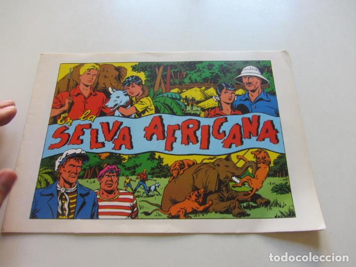 CHISPITA 4ª AVENTURA. Nº 1 EN LA SELVA AFRICANA AMBROS GRAFIDEA REEDICIÓN CX71 HJJ (Tebeos y Comics - Grafidea - Chispita)