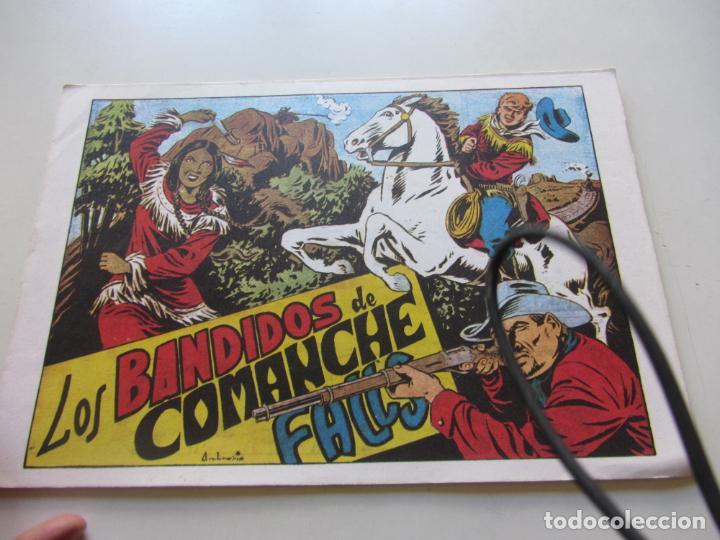 CHISPITA 1ª AVENTURA. Nº 8 LOS BANDIDO DE COMANCHE FALLS AMBROS GRAFIDEA REEDICIÓN CX71 HJJ (Tebeos y Comics - Grafidea - Chispita)