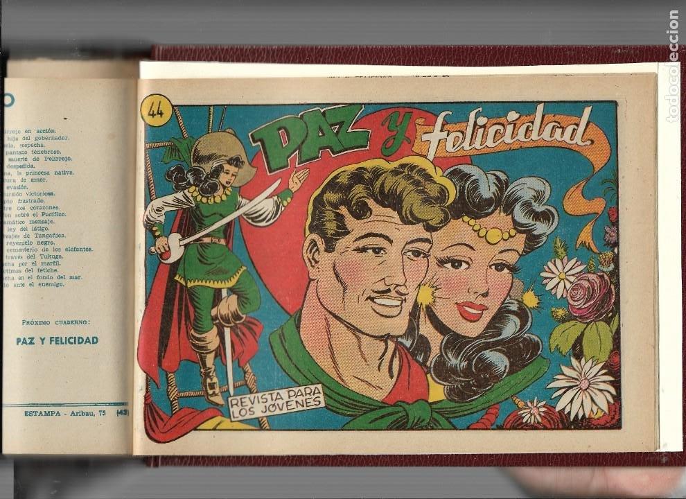 Tebeos: La Capitana Año 1953 Colección Completa son 44 Tebeos Originales encuadernado en tomo nuevo. - Foto 3 - 217506248
