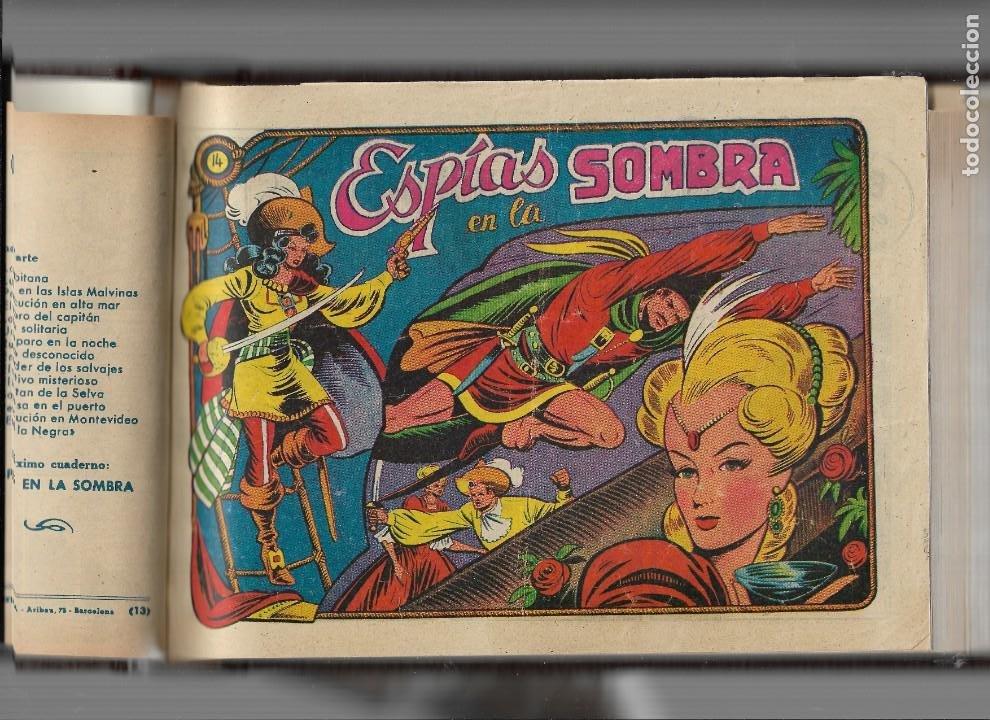 Tebeos: La Capitana Año 1953 Colección Completa son 44 Tebeos Originales encuadernado en tomo nuevo. - Foto 5 - 217506248