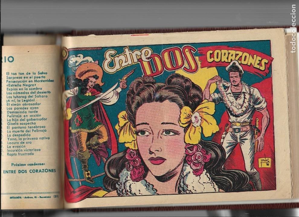 Tebeos: La Capitana Año 1953 Colección Completa son 44 Tebeos Originales encuadernado en tomo nuevo. - Foto 7 - 217506248
