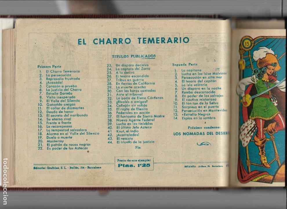 Tebeos: La Capitana Año 1953 Colección Completa son 44 Tebeos Originales encuadernado en tomo nuevo. - Foto 6 - 217506248