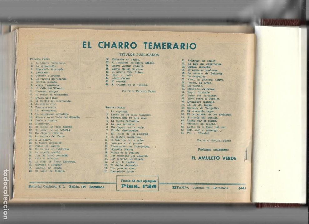 Tebeos: La Capitana Año 1953 Colección Completa son 44 Tebeos Originales encuadernado en tomo nuevo. - Foto 4 - 217506248