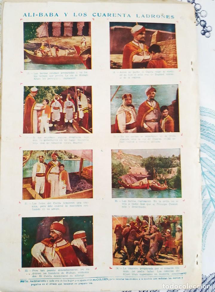 Tebeos: COLORIN Ed GRAFIDEA 1946 N,º 3 EL PODER DEL BRUJO CON ESTAMPAS ALI-BABA N.º 17/24 - Foto 4 - 218643656