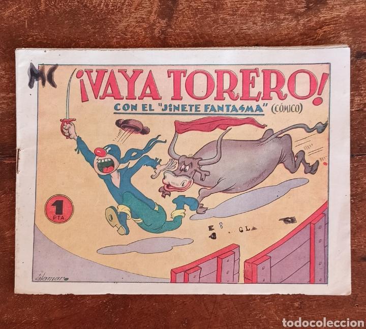 TEBEO N 2 - ¡ VAYA TORERO ! CON EL JINETE FANTASMA- NÚMERO 2 - CÓMICO - EDITORIAL GRAFIDEA (Tebeos y Comics - Grafidea - El Jinete Fantasma)