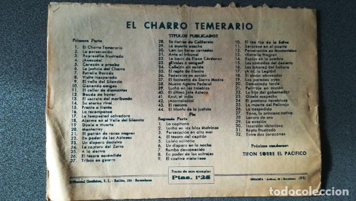 Tebeos: El Charro Temerario. Entre dos corazones - Foto 3 - 219329865