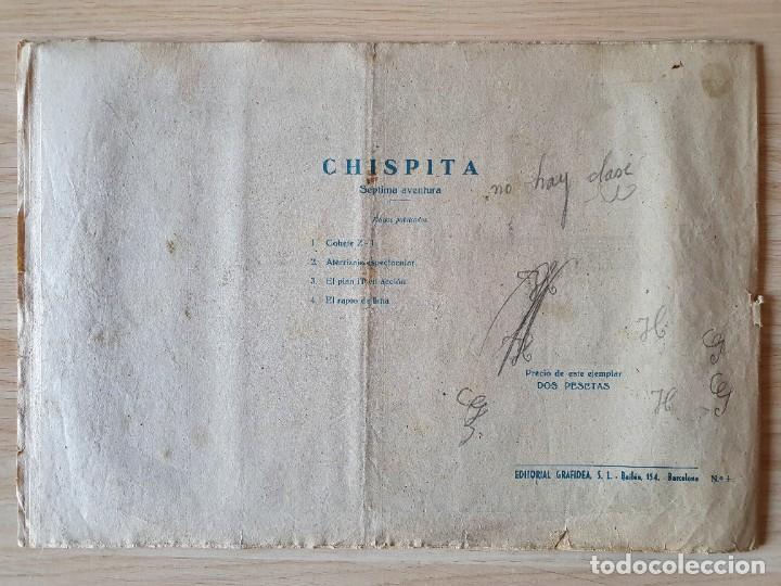 Tebeos: EL RAPTO DE IKHA - CHISPITA SÉPTIMA AVENTURA - Nº 4 - GRAFIDEA - Foto 3 - 219721430