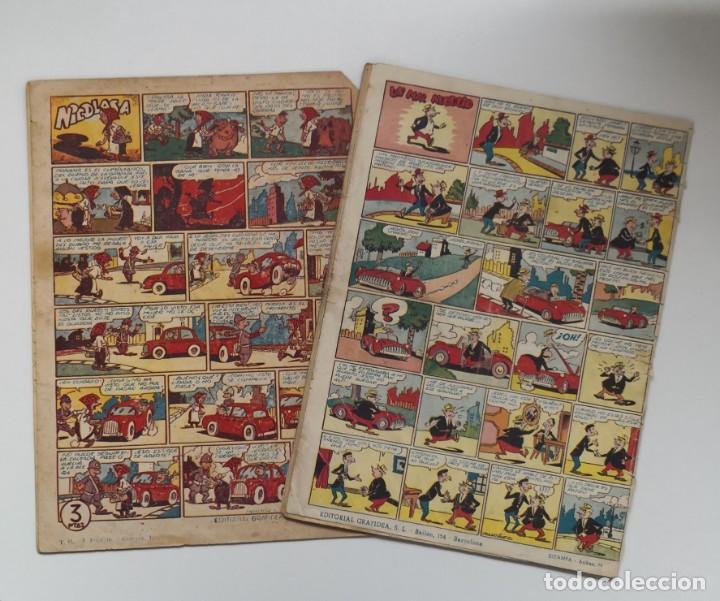 Tebeos: ALMANAQUES CHISPITA 1957 Y 1957 - Foto 2 - 219988970