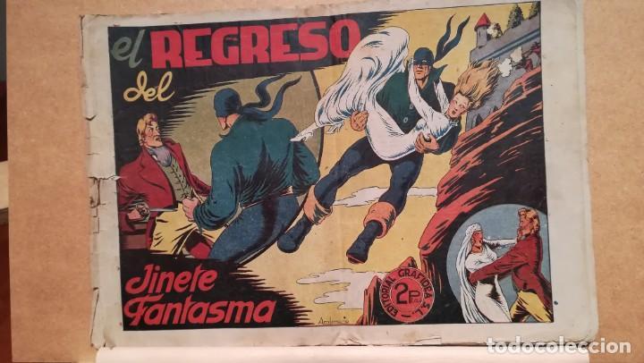EL REGRESO DEL JINETE FANTASMA Nº 32 (Tebeos y Comics - Grafidea - El Jinete Fantasma)