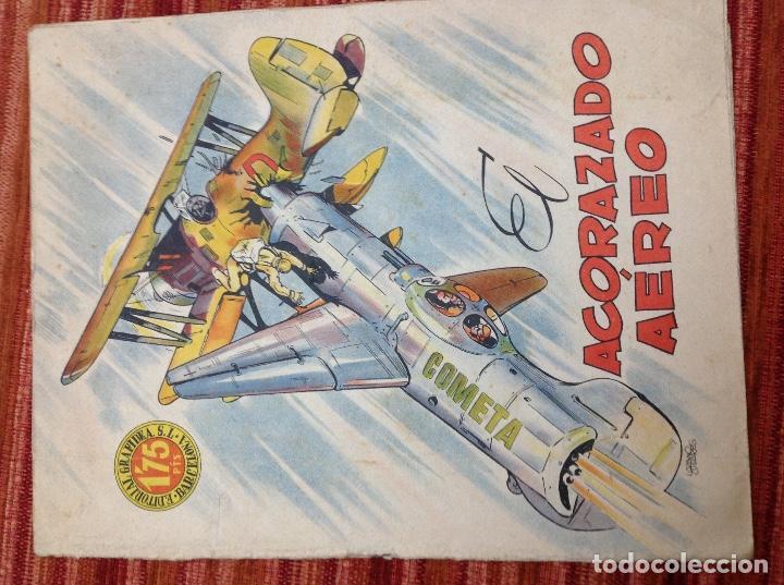 EL ACORAZADO AÉREO-ED.GRAFIDEA-DIB.LOZANO OLIVARES-AÑOS 40 (Tebeos y Comics - Grafidea - Otros)