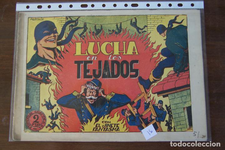 GRAFIDEA,- EL JINETE FANTASMA Nº 51 LUCHA EN LOS TEJADOS (Tebeos y Comics - Grafidea - El Jinete Fantasma)