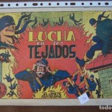 Tebeos: GRAFIDEA,- EL JINETE FANTASMA Nº 51 LUCHA EN LOS TEJADOS. Lote 221251518