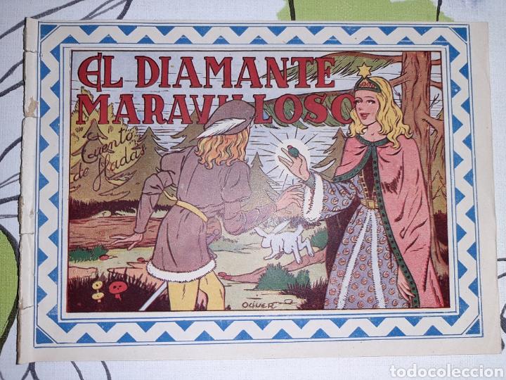 EL DIAMANTE MARAVILLOSO, CUENTO DE HADAS, COLECCION CELESTE N° 3 (Tebeos y Comics - Grafidea - Otros)