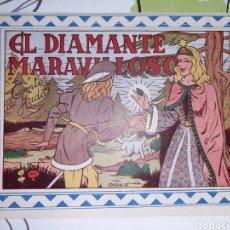 BDs: EL DIAMANTE MARAVILLOSO, CUENTO DE HADAS, COLECCION CELESTE N° 3. Lote 221302372