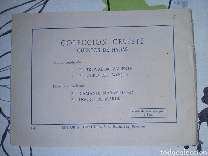 Tebeos: El ogro del bosque, cuento de hadas, Colección Celeste n° 2 - Foto 2 - 221302583