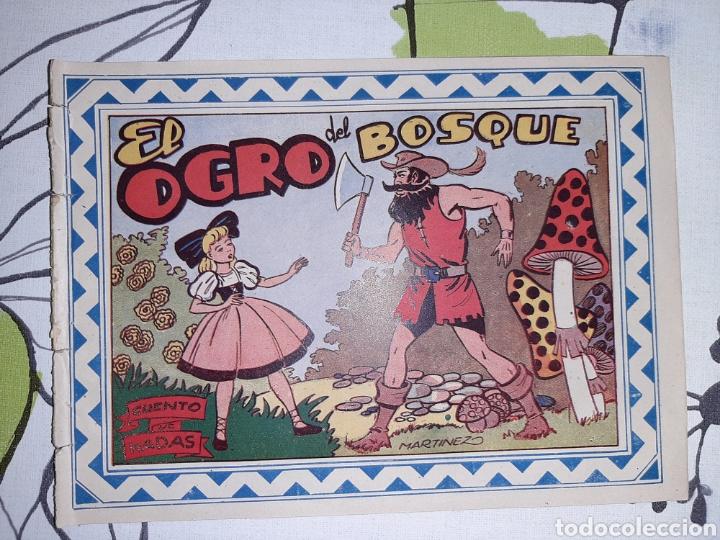 EL OGRO DEL BOSQUE, CUENTO DE HADAS, COLECCIÓN CELESTE N° 2 (Tebeos y Comics - Grafidea - Otros)