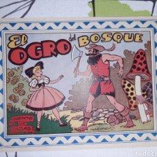 Tebeos: EL OGRO DEL BOSQUE, CUENTO DE HADAS, COLECCIÓN CELESTE N° 2. Lote 221302583