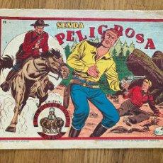 Tebeos: CHISPITA REAL POLICIA MONTADA CANADA Nº 11 - ORIGINAL - GCH1. Lote 221894650